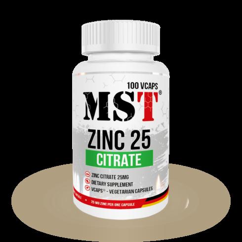 mst zinc citrate