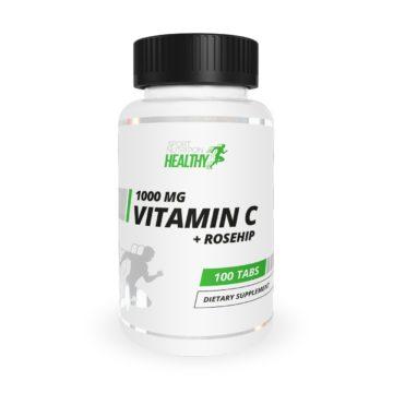 Healthy by MST® Vitamin C 100 mg + Rosehip 100 таблеток